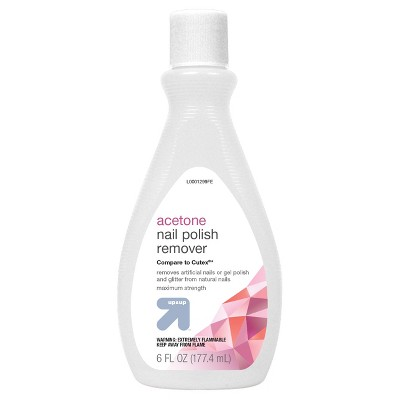 Acetone Nail Polish Remover - 6oz - up & up™