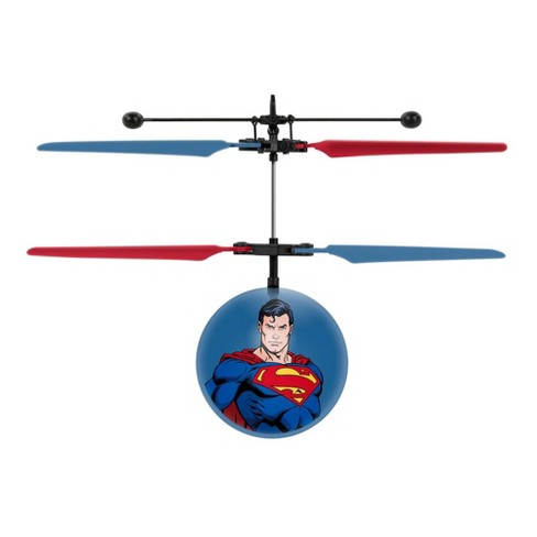 World Tech Toys DC Justice League Superman IR UFO Ball Helicopter - image 1 of 3