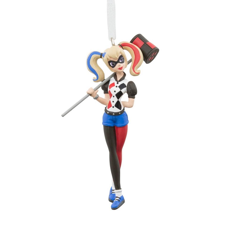 Hallmark DC Comics Harley Quinn Christmas Ornament, Multi-Colored