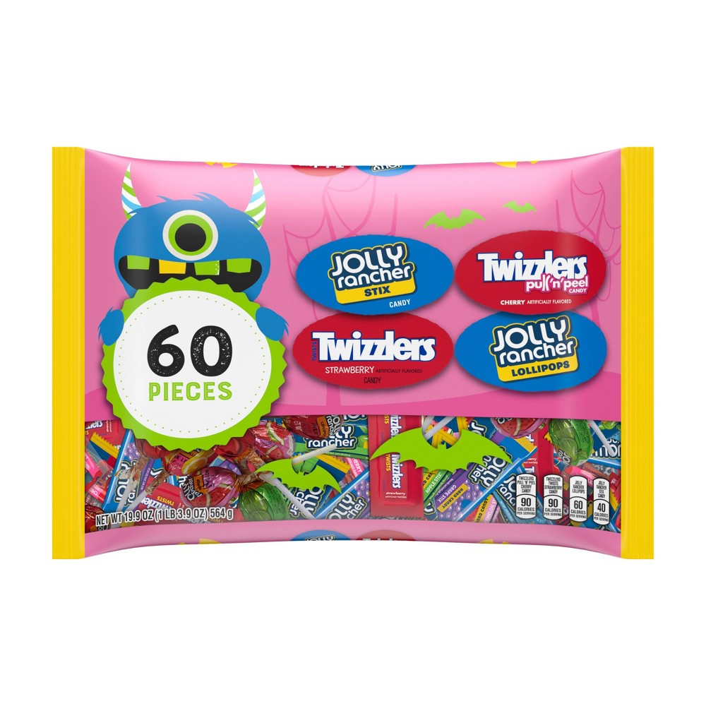 Jolly Rancher and Twizzlers Halloween Variety Bag - 19.9oz / 60ct