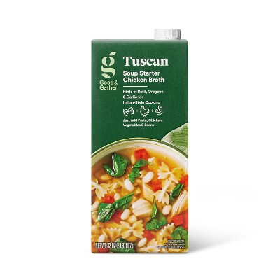 Tuscan Soup Starter Chicken Broth - 32oz - Good & Gather™