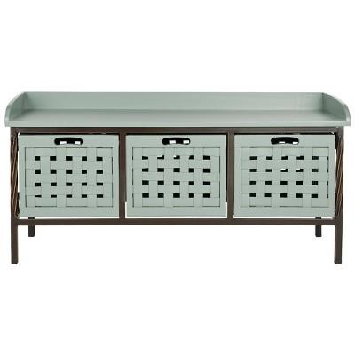 Issac Storage Bench - Safavieh