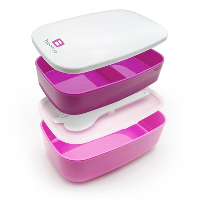 Bentgo All In One Stackable Lunch Box   Purple : Target