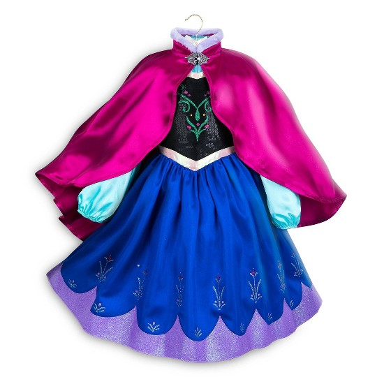 Disney Frozen 2 Anna Kids' Dress - Size 3 - Disney store, Girl's, Black/Blue image number null
