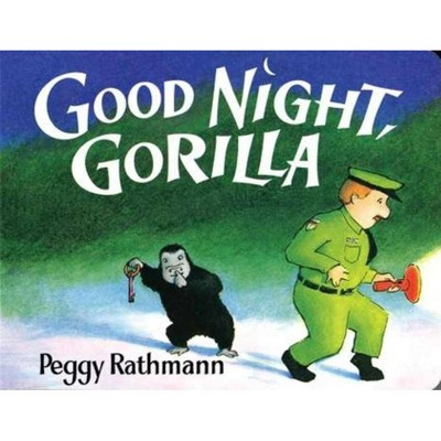 Good Night, Gorilla by Peggy Rathmann (Board Book)