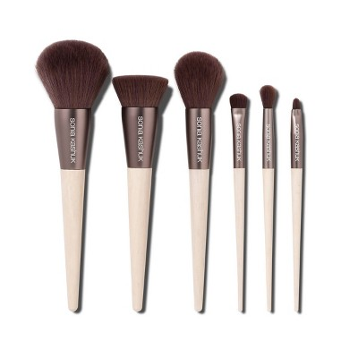 Sonia Kashuk™ Limited Edition Brush Set 6pc Antibacterial Brown