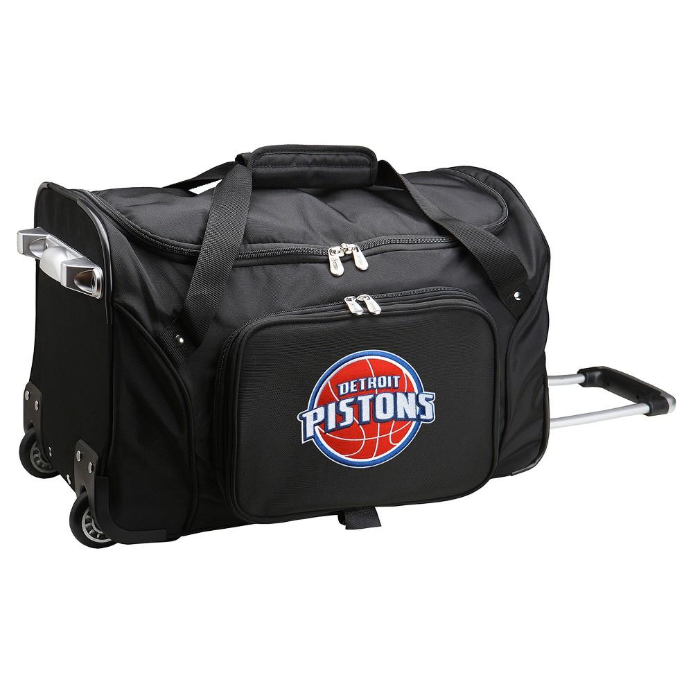 NBA Detroit Pistons Mojo 22 Rolling Duffel Bag