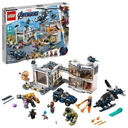 LEGO Marvel Avengers Compound Battle Collectibles Building Set with Superhero Minifigures 76131