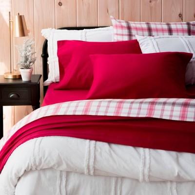 Solid Flannel Sheet Set - Martha Stewart