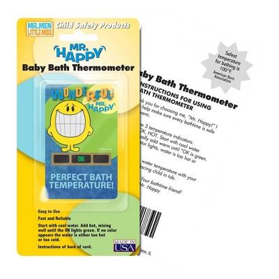 Hallcrest Mr. Happy Bath Thermometer - 4 pack