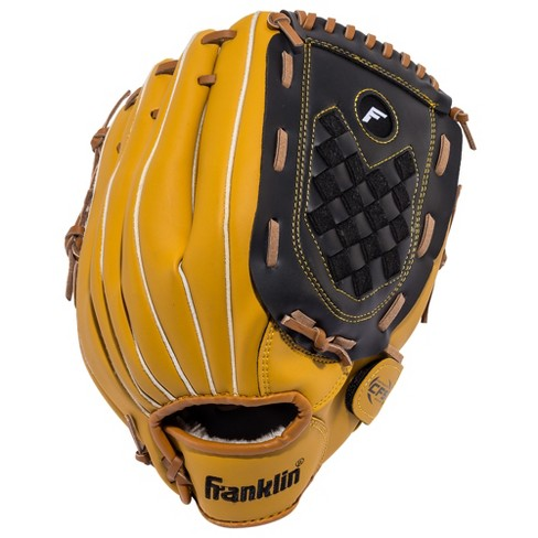 "Franklin Sports Softball Slowpitch 13"" Glove Fieldmaster - Brown/Black - image 1 of 2"