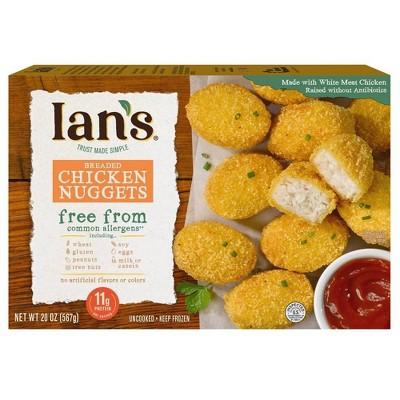Ian's Gluten Free Frozen Chicken Nuggets Family Pack- 20oz