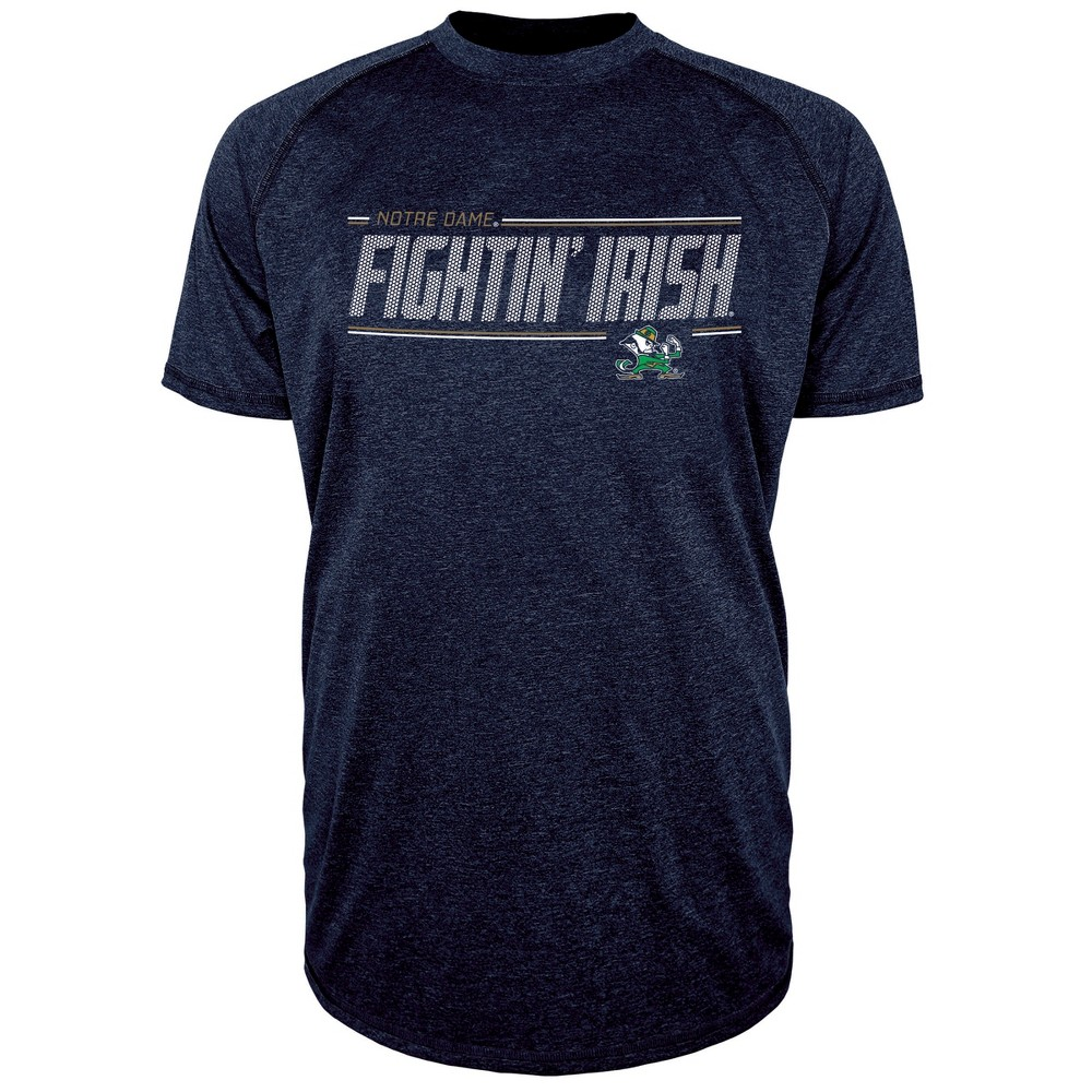 Notre Dame Fighting Irish Men's Team Speed Poly Performance T-Shirt XL, Multicolored