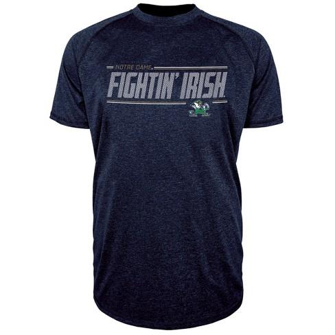 Notre Dame Fighting Irish Men s Team Speed Poly Performance T-Shirt ... 25c8fbfe6
