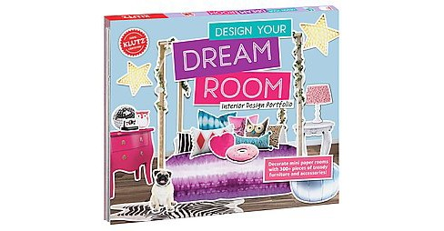 Design Your Dream Room : Interior Design Portfolio (Paperback) (Klutz (COR)) - image 1 of 1