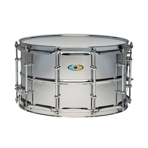 Ludwig Supralite Steel Snare Drum 14 x 8 in. - image 1 of 1