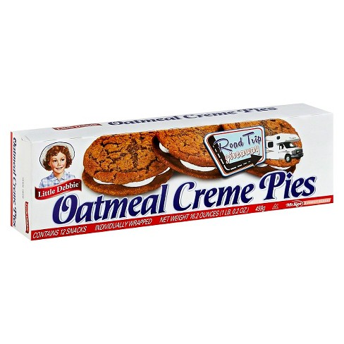 Little Debbie Oatmeal Creme Pies - 12ct - image 1 of 2