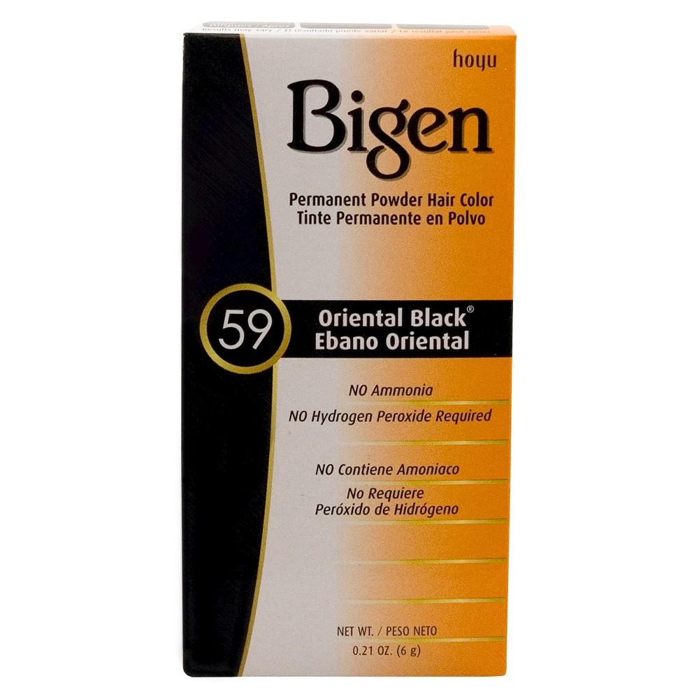 Bigen Hair Color 59 Oriental Black