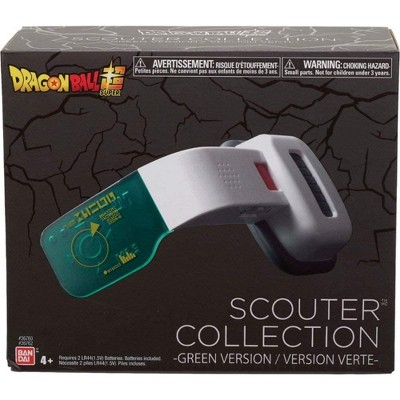 Bandai Dragon Ball Super Scouter Collection Electronic Green Scouter