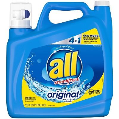 All Stainlifter Original Liquid Laundry Detergent 100 Loads - 150 fl oz