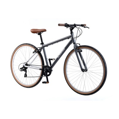"Schwinn Addison 700c/28"" City Hybrid Bike - Gray"