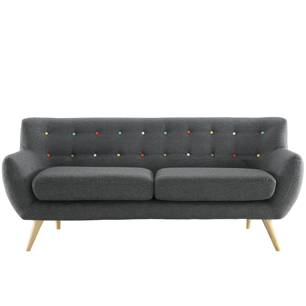 Remark Upholstered Sofa Gray - Modway