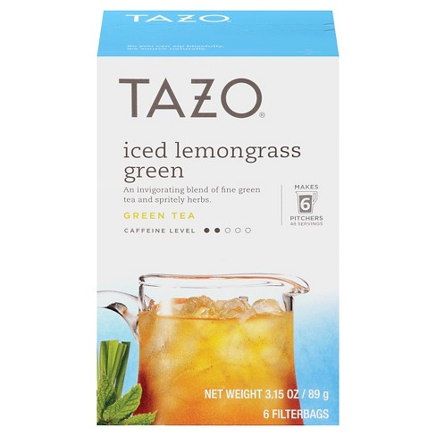 Tazo Iced Lemongrass Tea - 6ct - image 1 of 1