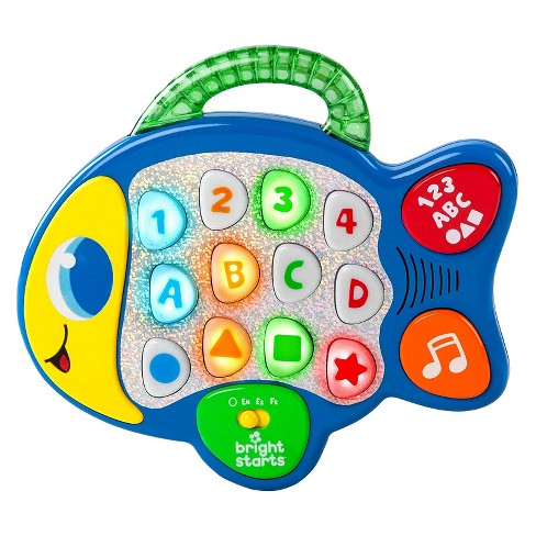 Bright Starts™ Lights, Lights Baby™ Learn & Giggle Fish Toy - image 1 of 3