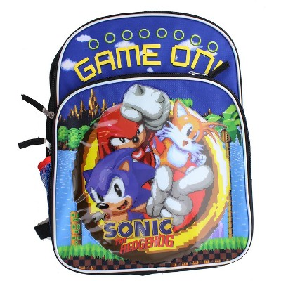 Accessory Innovations Company Sonic the Hedgehog Game On 16-Inch Backpack
