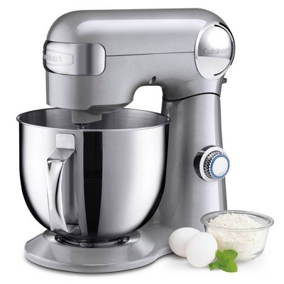 Cuisinart Precision Master 5.5qt Stand Mixer - Brushed Chrome - SM-50BC