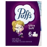 Deals on 18-Pack Puffs Ultra Soft Facial Tissue + $10 Target GC