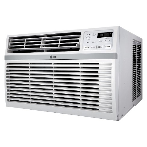 LG - 12000-BTU 115V Window-Mounted Air Conditioner with Remote Control - White - image 1 of 3