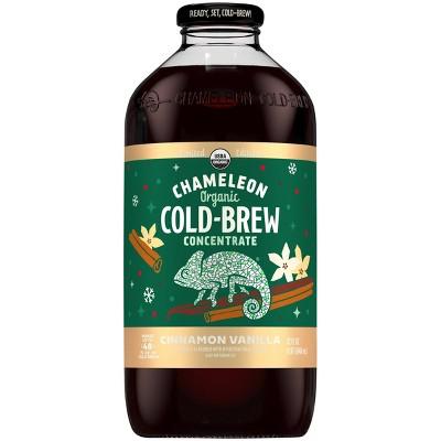 Chameleon Organic Cinnamon Vanilla Cold Brew Concentrate - 32 fl oz