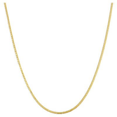 """Tiara Sterling Silver 16"""" - 22"""" Adjustable Thick Snake Chain"""