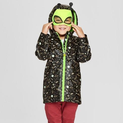 d13b2c5ab Toddler Boys  Monster Rain Jacket - Cat   Jack™ Black 18M