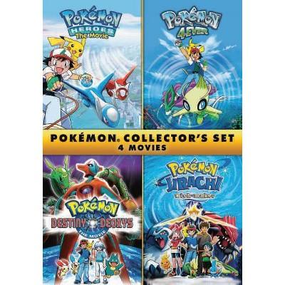 Pokemon Collector's Set: 4 Movies (DVD)(2020)