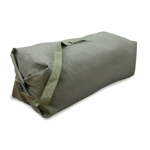 """Stansport 50"""" Cotton Canvas Duffel Bag With Shoulder Strap - image 1 of 4"""