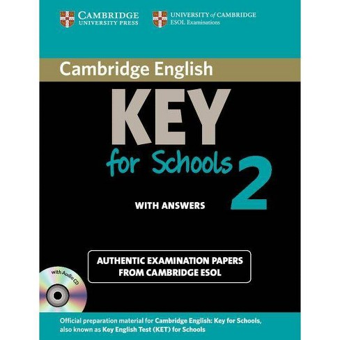 Cambridge English Key for Schools 2 Self-Study Pack (Student's Book with Answers and Audio CD) - image 1 of 1