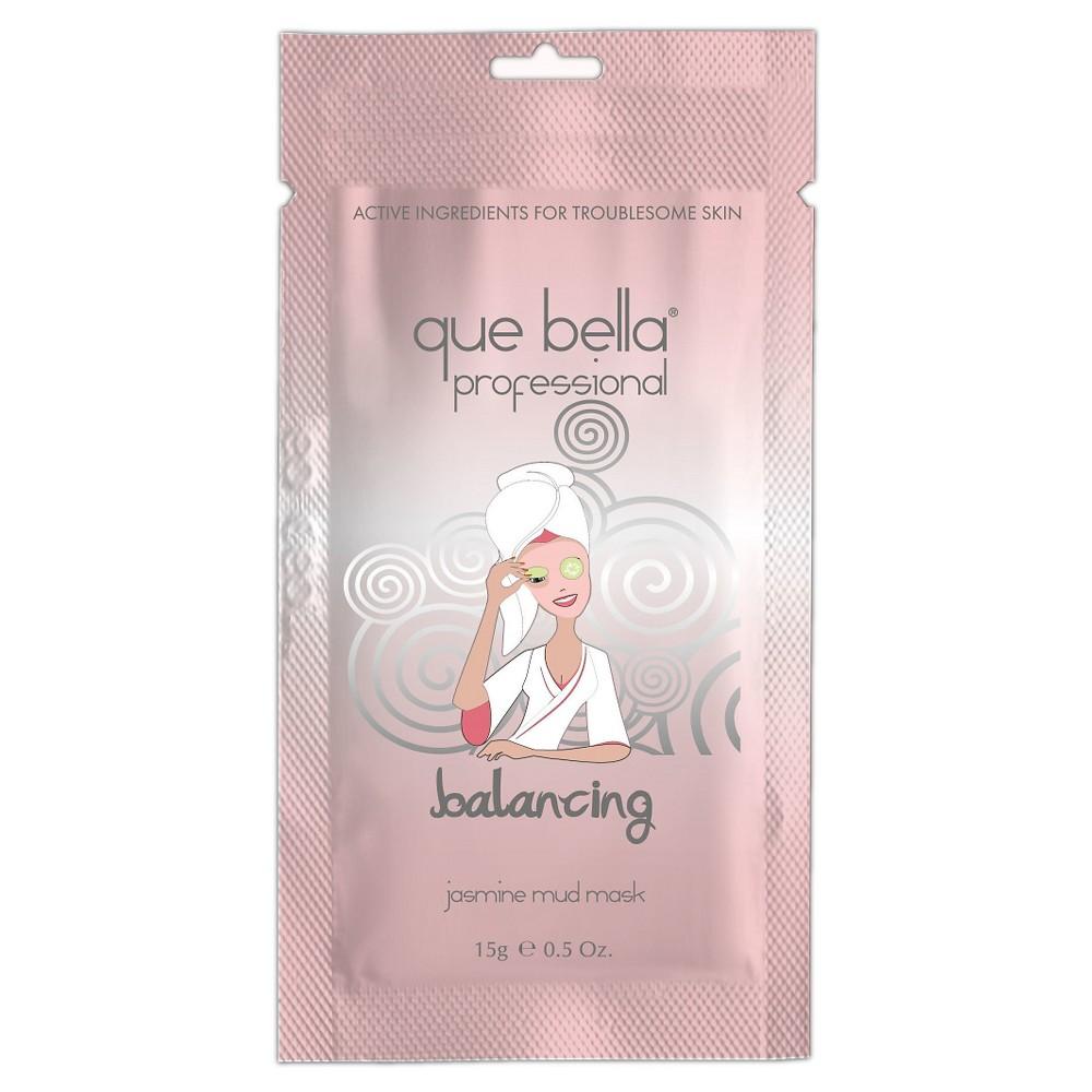 Que Bella Balancing Mud Mask - Jasmine - 0.5oz