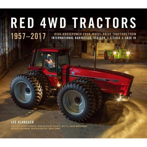 Red 4WD Tractors - by  Lee Klancher (Hardcover) - image 1 of 1