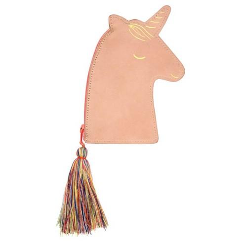 Meri Meri - Leather Unicorn Purse - Handbags - 1ct - image 1 of 1