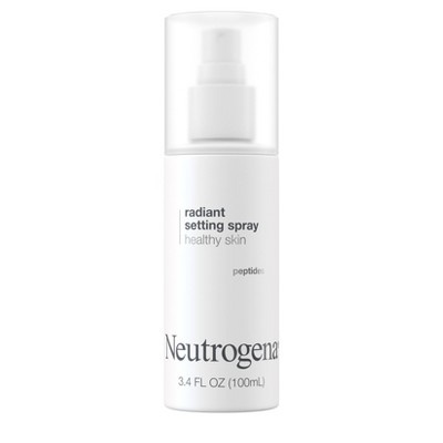 Neutrogena Radiant Makeup Setting Spray with Peptides - 3.4 fl oz