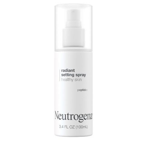 Neutrogena Radiant Makeup Setting Spray with Peptides - 3.4 fl oz - image 1 of 4