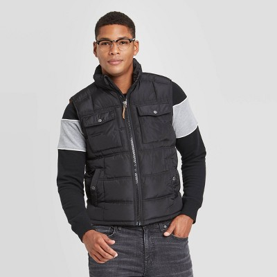 Men's Fullzip Midweight Puffer Vest - Goodfellow & Co™