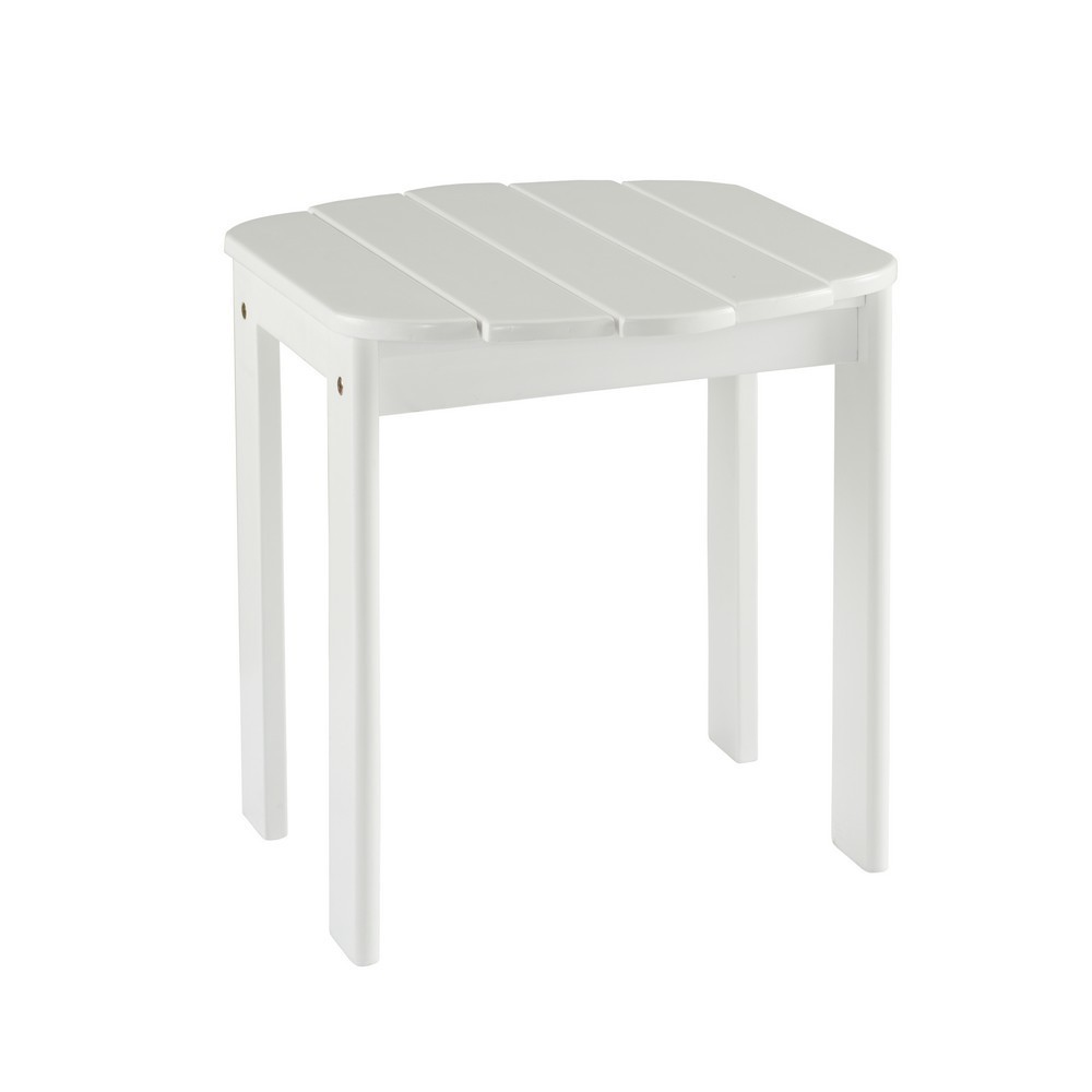 Adirondack End Table White - Linon