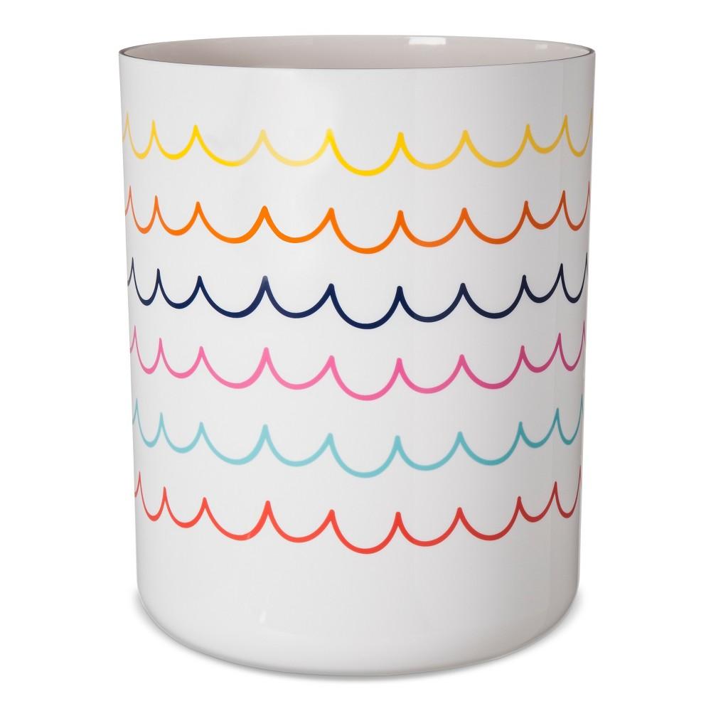 Image of Bathroom Wastebasket White - Pillowfort