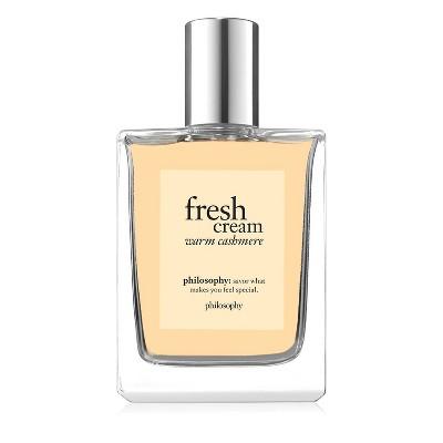 philosophy Fresh Cream Warm Cashmere Eau de Toilette - 2 fl oz - Ulta Beauty