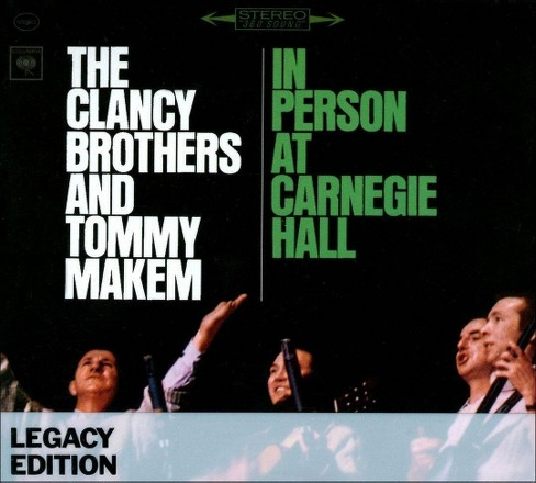 Clancy brothers - Clancy brothers and tommy makem i (CD) - image 1 of 1