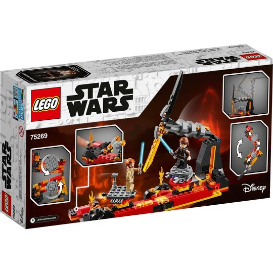 LEGO Star Wars: Revenge of the Sith Duel on Mustafar 75269 Anakin Skywalker vs Obi-Wan Kenobi image number null