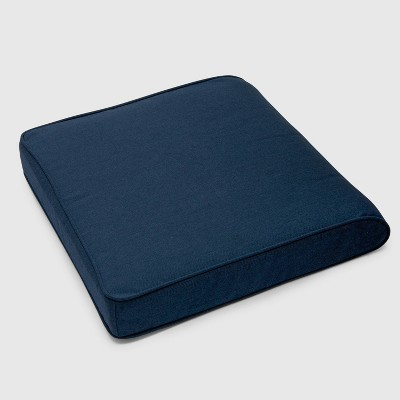Outdoor Double Welt Seat Cushion Sunbrella Spectrum - Smith & Hawken™